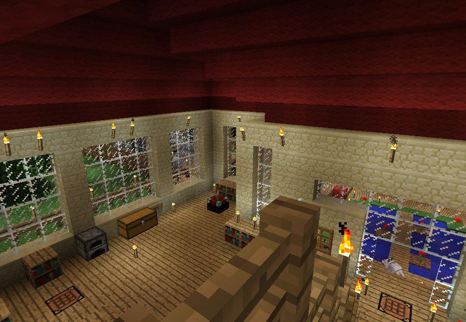 Minecraft - Minecraft hauser innen